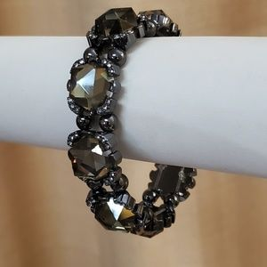 LOFT Rhinestone Stretch Bracelet NWOT #509